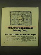 1970 American Express Ad - The Money Card