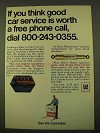 1970 GM Ad - Delco Energizer Battery, Remy Ignition