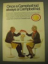 1970 Campbell's Chicken Noodle Soup Ad - Once a Kid