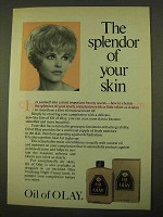 1970 Oil of Olay Ad - The Splendor of Your Skin