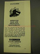 1970 Shure V-15 Type II Phono Cartridge Ad - Excelsior