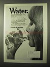 1971 Georgia Department of Industry & Trade Ad - Water