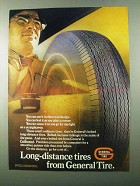 1971 General Tire Ad - Long-Distance Tires