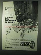 1971 Atlas Plycron 2 plus 2 Tire Ad - The Strength
