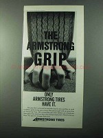 1971 Armstrong Tires Ad - The Armstrong Grip