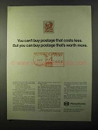 1971 Pitney-Bowes Postage Meters Ad - Worth More
