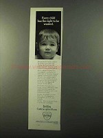 1971 Ortho Delfen Contraceptive Foam Ad - Be Wanted