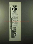 1971 Winchester Model 101 Shotgun Ad - Know Difference