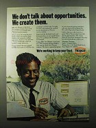 1971 Texaco Oil Ad - Don't Talk About Opportunities