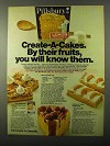 1971 Pillsbury Create-A-Cake Mix Ad - By Their Fruits