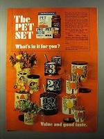 1971 Pet Milk Ad - The Pet Set