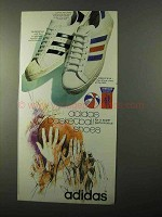 1971 Adidas Superstar & Americana Shoes Ad - Basketball