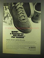 1971 Converse All Stars Shoes Ad - For Tennis