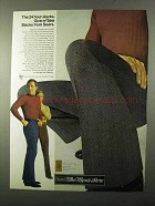 1971 Sears Give-n'-Take Slacks Ad - The 24 Hour Slacks