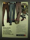 1971 Sears Neets n Grubs Jeans Ad - Comfortable