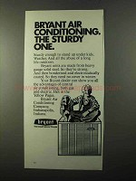 1971 Bryant Air Conditioning Ad - The Sturdy One
