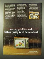 1971 Panasonic TV Ad - Get All The Works