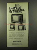 1971 Hitachi TV Ad - CNU-880, CNU-890 and CFA-460
