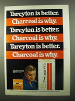 1971 Tareyton 100's Cigarettes Ad - Is Better