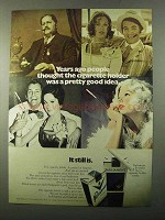 1971 Parliament Cigarettes Ad - Years Ago