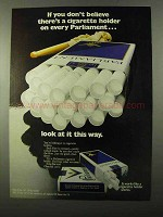 1971 Parliament Cigarettes Ad - If You Don't Believe