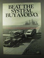 1971 Volvo Car Ad - Beat The System