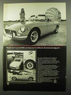 1971 MG MGB Ad - Don't Buy Because It's Different
