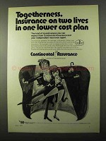 1971 Continental Assurance Ad - Togetherness
