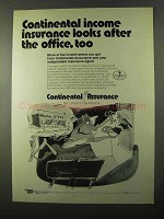 1971 Continental Assurance Ad - Looks After The Office