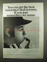 1971 Mutual Benefit Life Insurance Ad - Best Deal