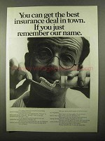 1971 Mutual Benefit Life Insurance Ad - Get Best Deal