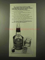 1971 Seagram's Benchmark Bourbon Ad - A Good Chance