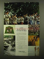 1971 Virginia Tourism Ad - Love is an Eight-Letter Word