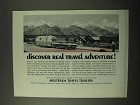 1971 Airstream Travel Trailers Ad - Discover Adventure
