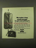 1971 American Tourister Luggage Ad
