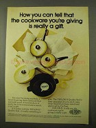 1971 Du Pont Teflon II Cookware Ad - How Can You Tell