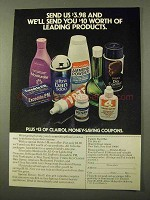 1971 Bristol-Myers Family Pac Ad - Leading Products