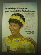 1971 Chiffon Margarine Ad - Fool Mother Nature
