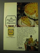 1971 Kraft Mayonnaise Ad - The Cocktail Quiche