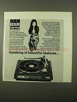 1971 BSR McDonald Model 610/X Total Turntable Ad