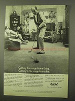 1971 GMAC Financing Ad - Getting The Range is One Thing