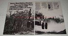 1971 Sears Steel-belted Radial Tires Ad - The Baja Race
