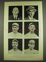 1913 Baseball Photo - Danny Murphy, Christy Mathewson