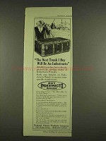 1913 National Veneer Products Indestructo Trunk Ad - Next I Buy