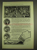 1913 Battle Creek Sanitarium Ad - Eating Is A Science