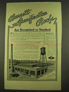 1913 Barrett Specifiation Roofs Ad - Are Recognized