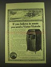 1913 Victor Victrola XVI Phonograph Ad - You Believe