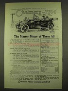 1914 Chalmers Six Car Ad - The Master Motor of All