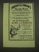 1913 Murray & Lanman's Florida Water Perfume Ad