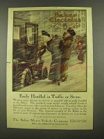 1912 Baker Electric Motor Vehicles Ad, Traffic or Storm